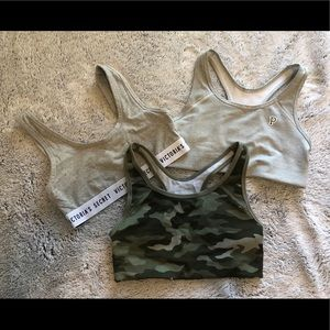 Set of 3 Sports Bras
